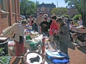 Village Valuables & TRS Sidewalk Sale @ German Village neighborhood