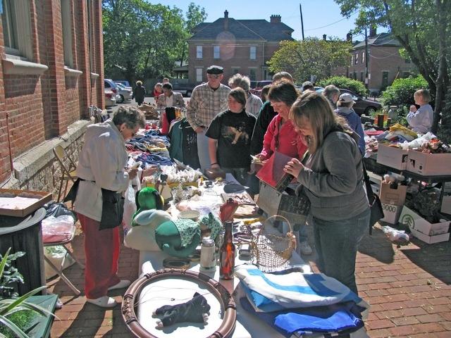 Village Valuables & TRS Sidewalk Sale