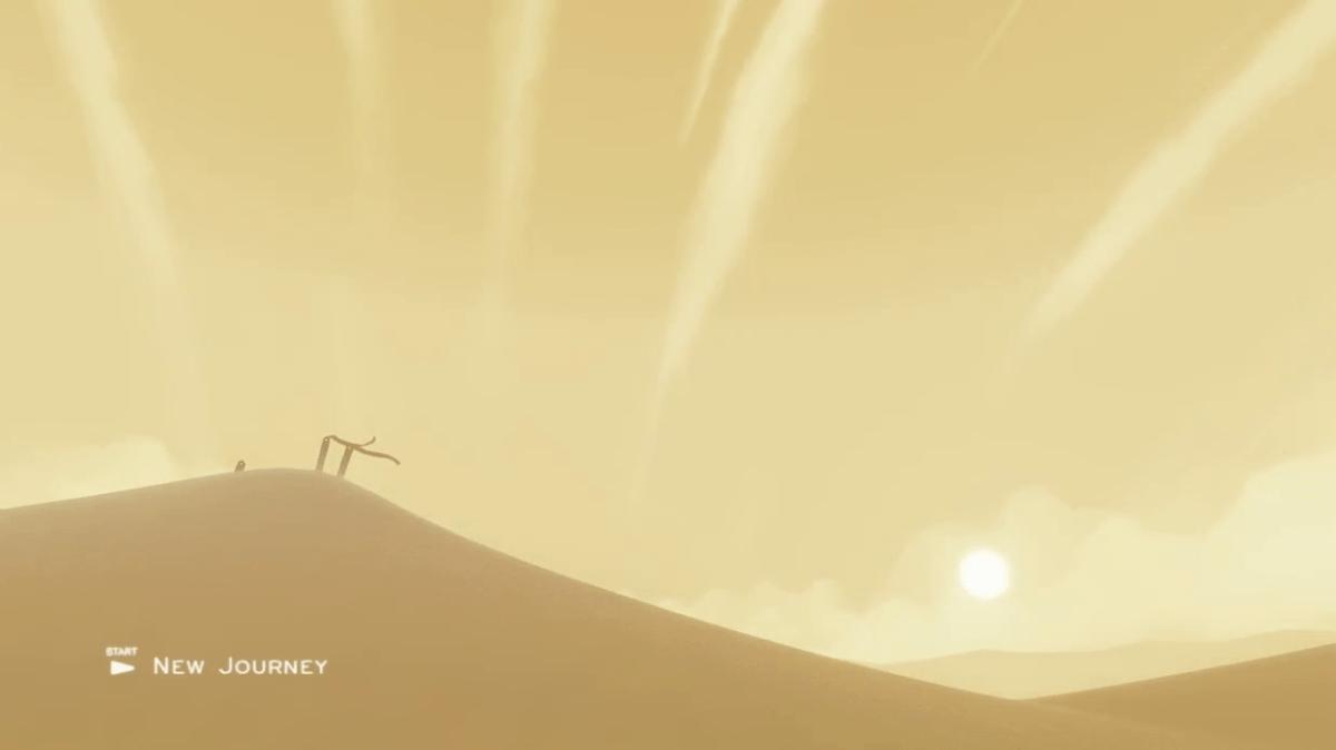 Journey Screenshot Wallpaper Title Screen