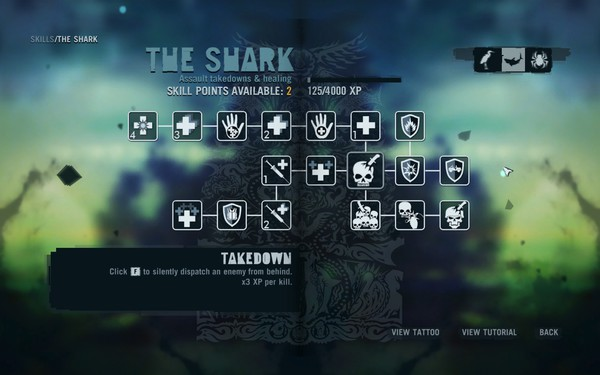 Far Cry 3 Screenshot Wallpaper Talent System
