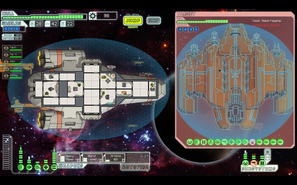 FTL Faster Than Light Screenshot Wallpaper Last Boss First Phase