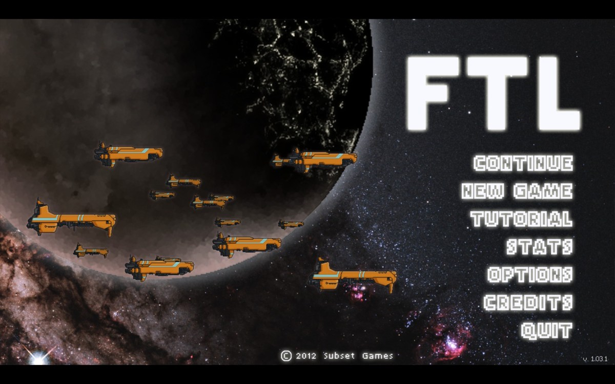 FTL Faster Than Light Screenshot Wallpaper Title Screen