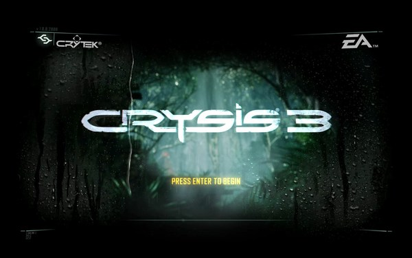 Crysis 3 Screenshot Walpaper Title Screen