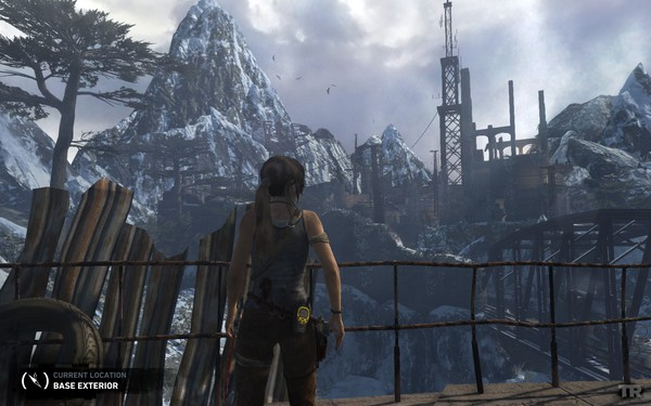 Tomb Raider 2013 Screenshot Wallpaper Base Exterior