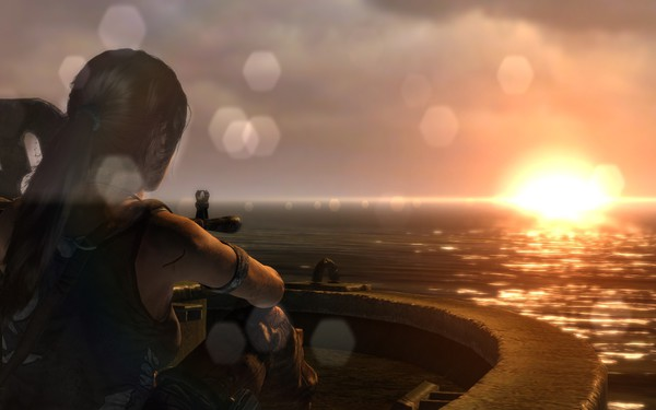 Tomb Raider 2013 Screenshot Wallpaper Introspective End