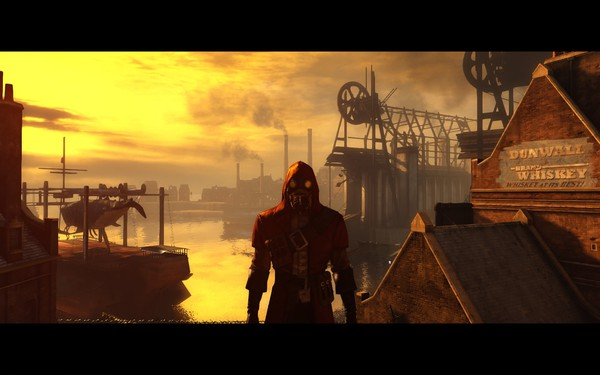 Dishonored Knife of Dunwall DLC Screenshot Wallpaper It Starts