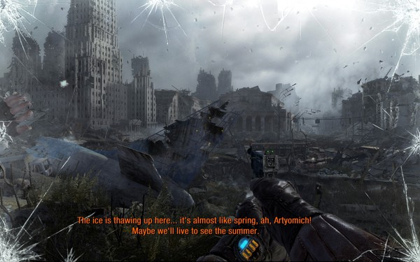 Metro Last Light Screenshot Wallpaper Outside