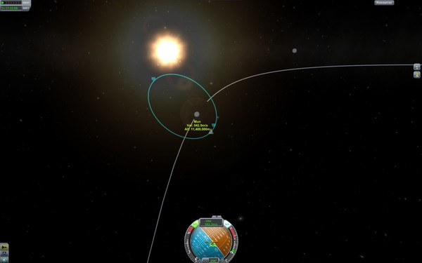 Kerbel Space Program Screenshot Wallpaper Mun Orbit