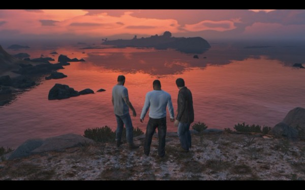Grand Theft Auto V Screenshot Wallpaper A Fitting Finale