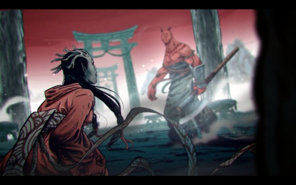 Shadow Warrior Screenshot Wallpaper 2D Cinematics