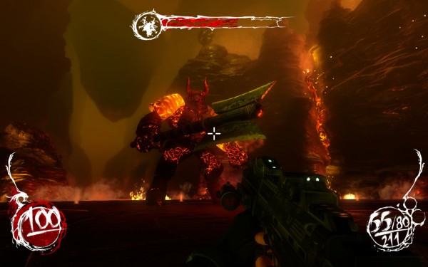 Shadow Warrior Screenshot Wallpaper Boss Fights