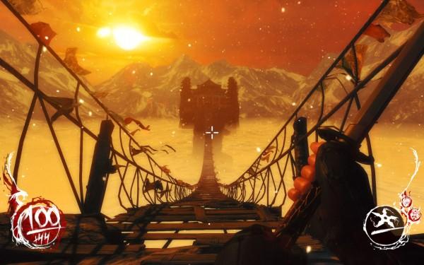 Shadow Warrior Screenshot Wallpaper Onto the Final Battle