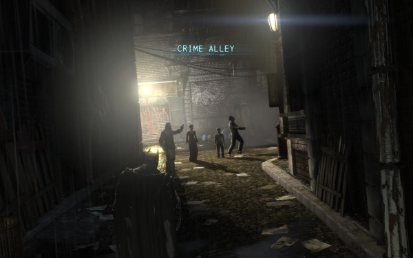 Batman Arkham Origins Review Screenshot Wallpaper Crime Alley