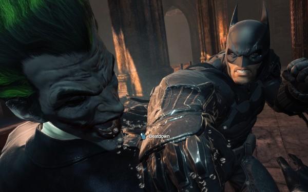 Batman Arkham Origins Review Screenshot Wallpaper Joker Beatdown