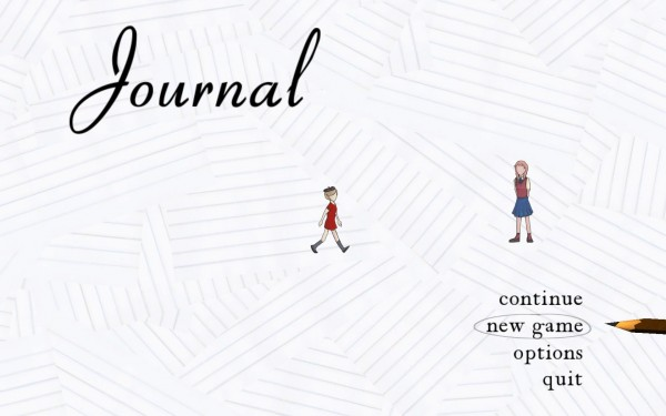 Journal Screenshot Wallpaper Title Screen