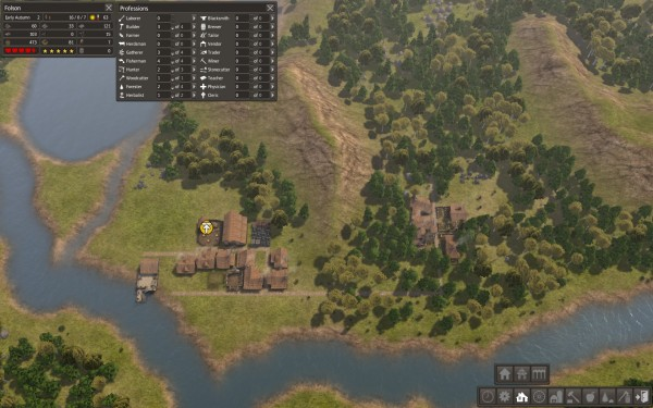 Banished Review Screenshot Wallpaper Small Beginnings