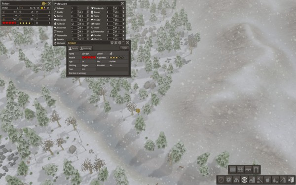 Banished Review Screenshot Wallpaper Uneducated Retards