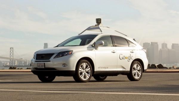 Google Self Driving Car Lexus