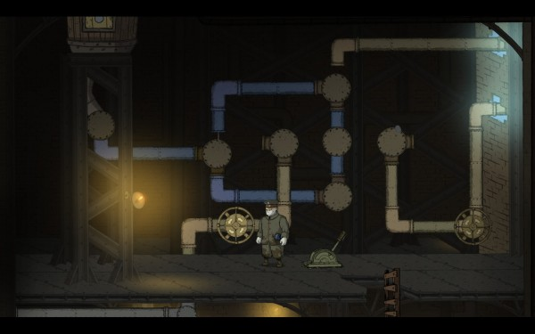 Valiant Hearts Review Screenshot Wallpaper Pipe Puzzle