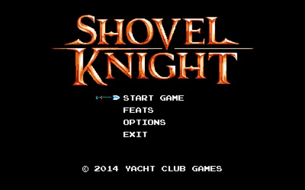 Shovel Knight Review Screenshot Wallpaper Titel Screen