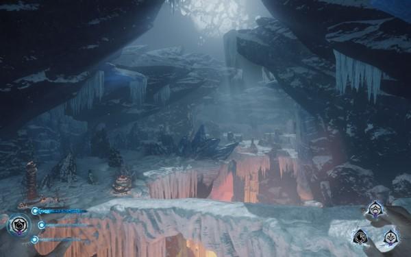Lichdom Battlemage Review Screenshot Wallpaper Under The Mountains