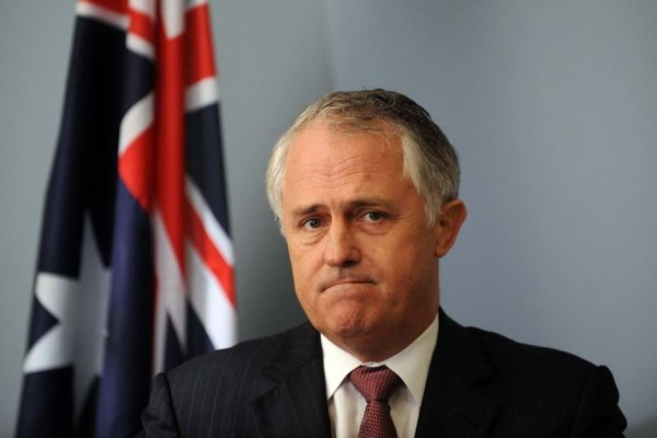 Sad Malcolm Turnbull
