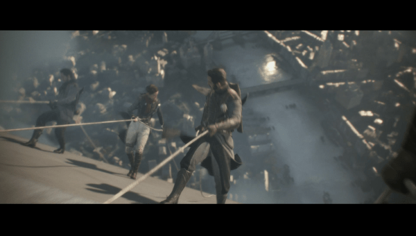 The Order 1886 Review Screenshot Wallpaper Boarding a Zepplin