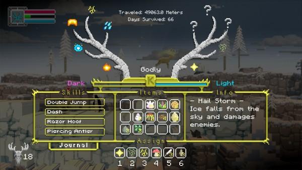 The Deer God Review Screenshot Wallpaper Power Tree