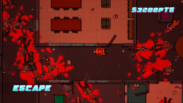 Hotline Miami 2  Wrong Number Review Screenshot Wallpaper Escape