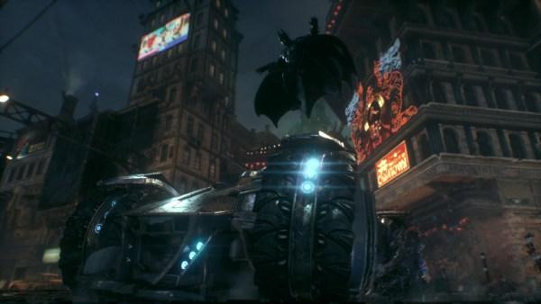Batman Arkham Knight Review Screenshot Wallpaper Batmobile