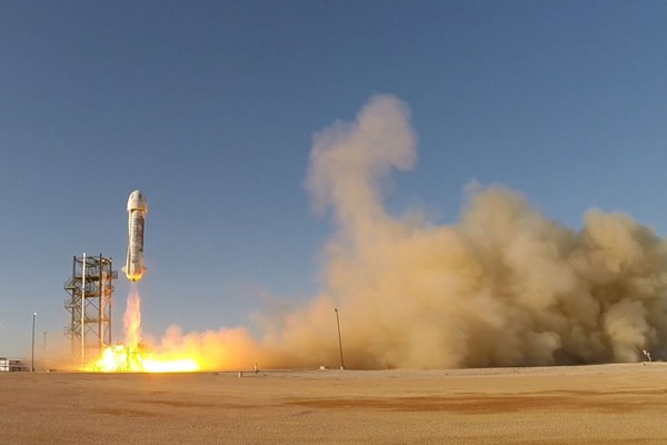 New Shepard Second Launch