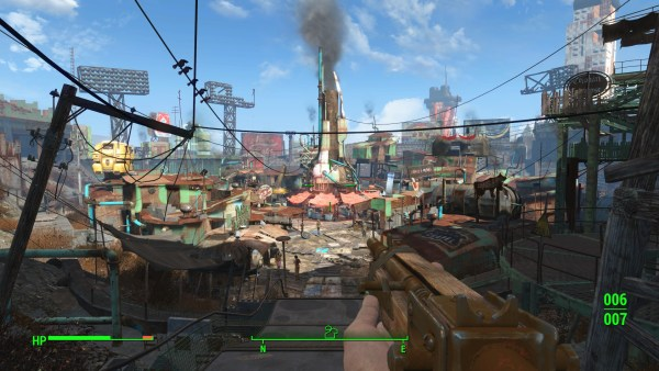 Fallout 4 Review Screenshot Wallpaper Diamond City