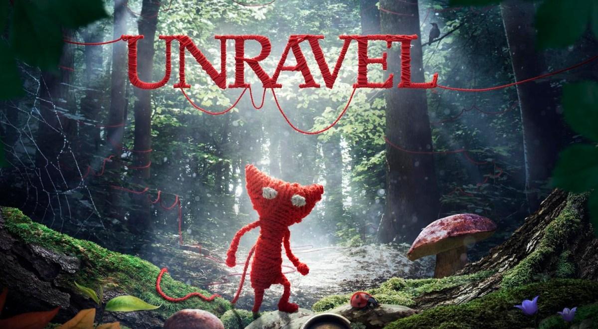 Unravel Review Screenshot Wallpaper Title Screen