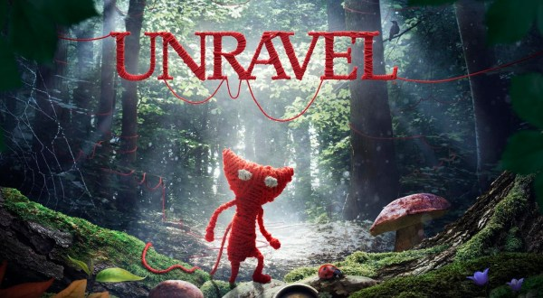 Unravel Review Screenshot Wallpaper Title Screen
