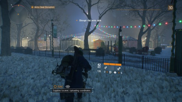 The Division Review Screenshot Wallpaper Disrupt The Arms Deal