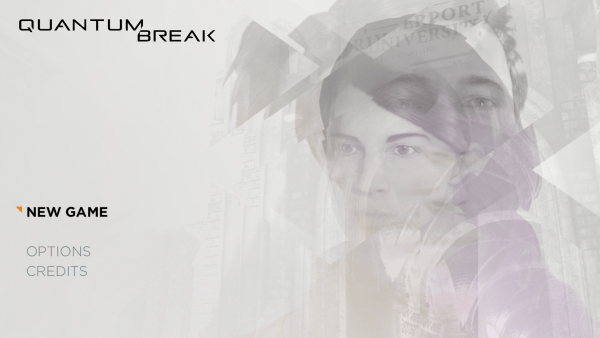Quantum Break Review Screenshot Wallpaper Title Screen