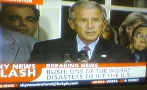 Bush is a disaster