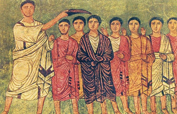 Dura Europos fresco