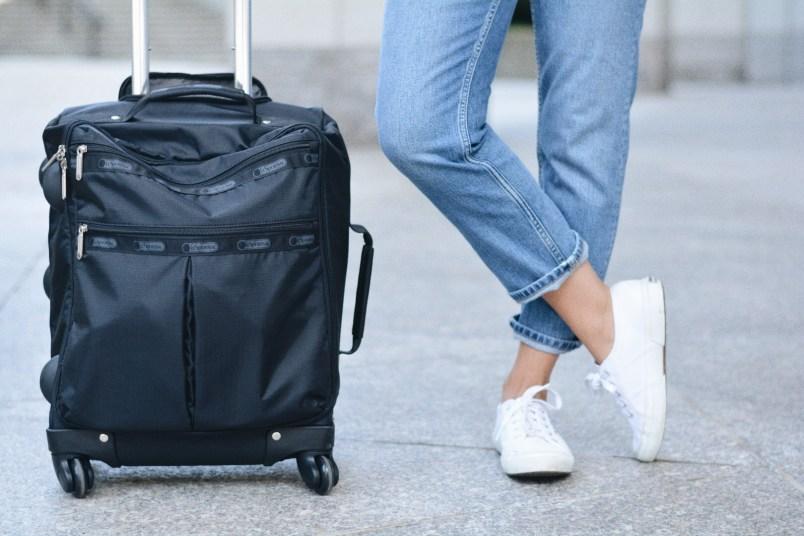 LeSportsac suitcase