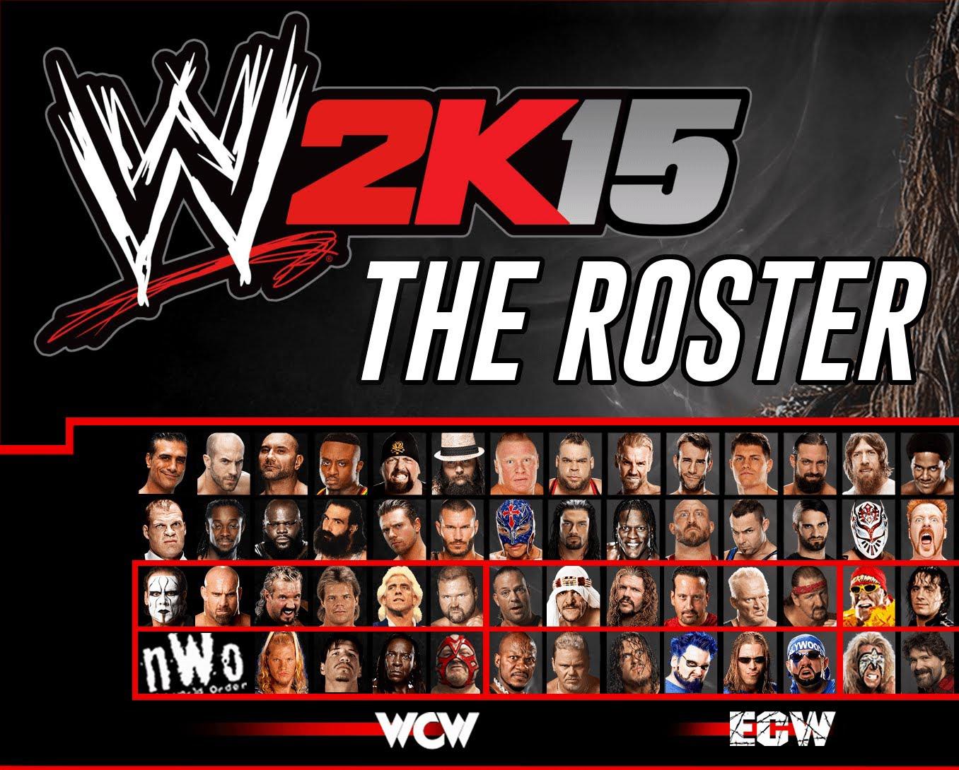 Cool Wwe Names List 2k15