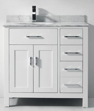 bathroom vanities klz cream vanity set 36 width carrera top