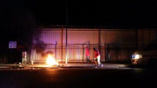 Fire near Ultra Liquors