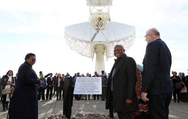 South Africa's MeerKAT Telescope Inaugurated