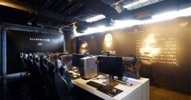 Alienware cafe
