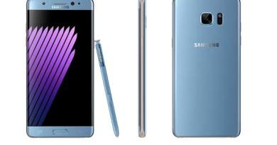 FAA Samsung Galaxy Note 7