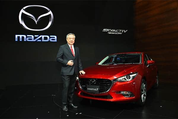 Mazda achieved sales growth of 38% over 6,000 units
