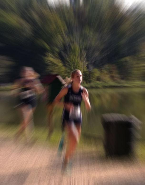 runner blur