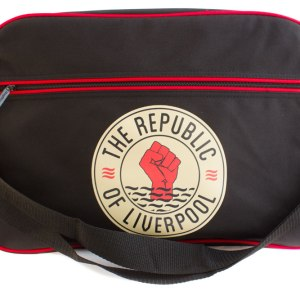 Black Republic of Liverpool messenger bag