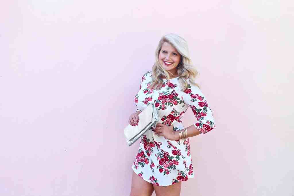 Floral Dress Republic of Rose Spring Style