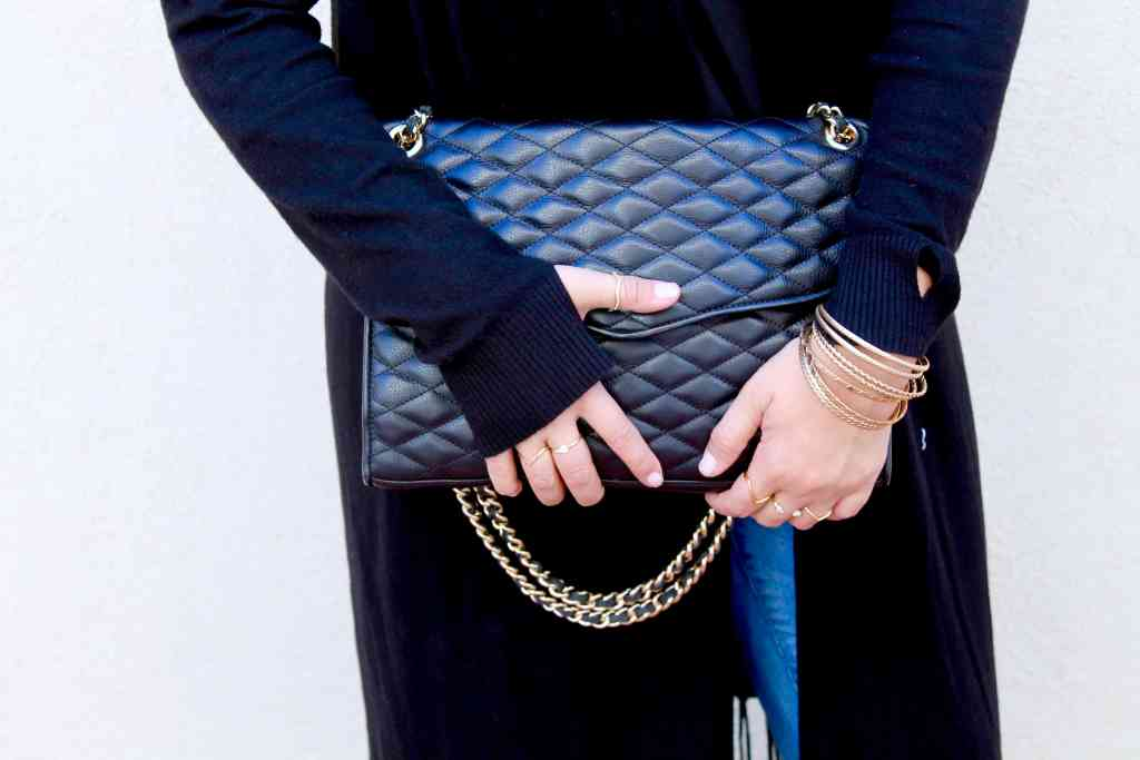 Republic of Rose Quilted Purse Rebecca Minkoff Style Post